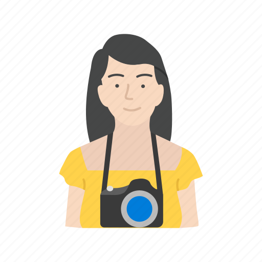female photographer, photo, photographer, photography icon