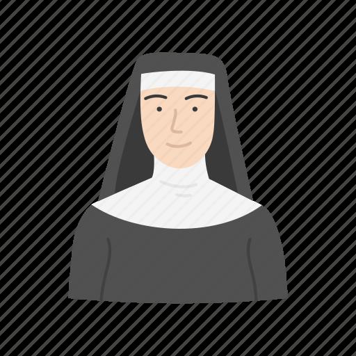 catholic, church, nun, sister icon