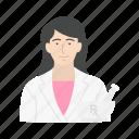 female, female pharmacist, medicine, pharmacist