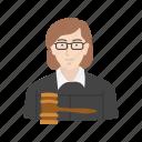 female, female judge, judge, lawyer
