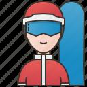 extreme, professional, snowboarding, sport, winter
