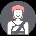 avatar, driving, female, woman