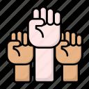 fist, womans, power, female, feminism, motivation