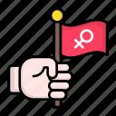 feminism, female, feminist, supporter, woman, power