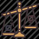 inequality, fairness, injustice, prejudice, unequal, discrimination, equality icon