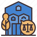 property, home, house, ownership, realestate, estate, property rights icon