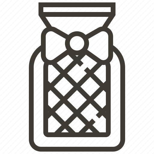beverage, bottle, bow, drink icon