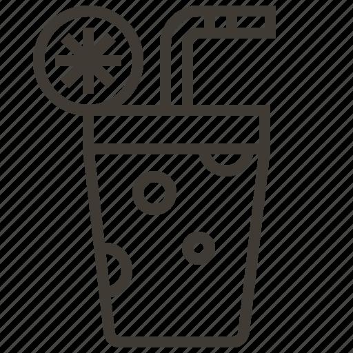 Glass, beverage, drink icon
