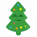 christmas, cute, newyear, snow, tree, winter icon