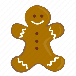 christmas, gingerbread, new, newyear, snow, year icon