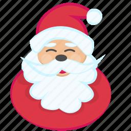 christmas, festive, fun, gift, presents, santa, snow icon