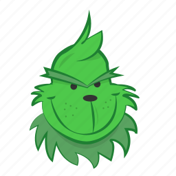 christmas, cute, grinch, movie, smile icon