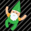 celebration, christmas, cute, decoration, fun, gift, gnome, holiday, winter icon