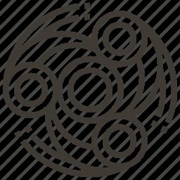 fidget spinner, spinner, toy icon
