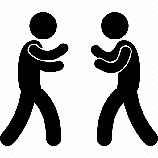 brawl, fight, fighting, man, ready, versus, vs icon