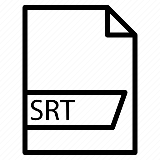 data, file, folder, format, srt icon