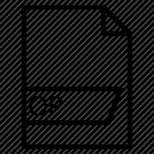 data, file, folder, format, op icon