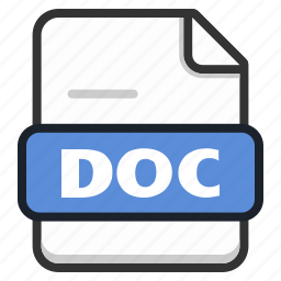doc, document, file, format, page, text icon