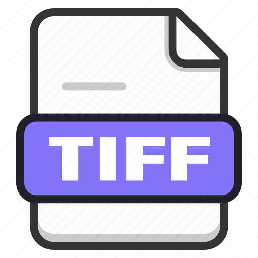 document, documents, file, files, format, page, tiff icon