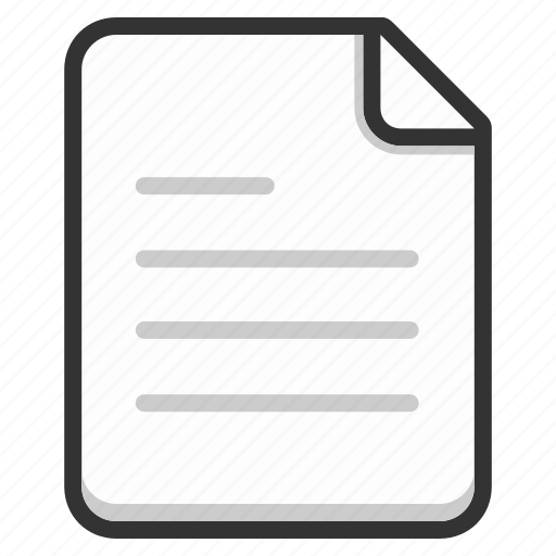 document, file, files, page, paper, text icon