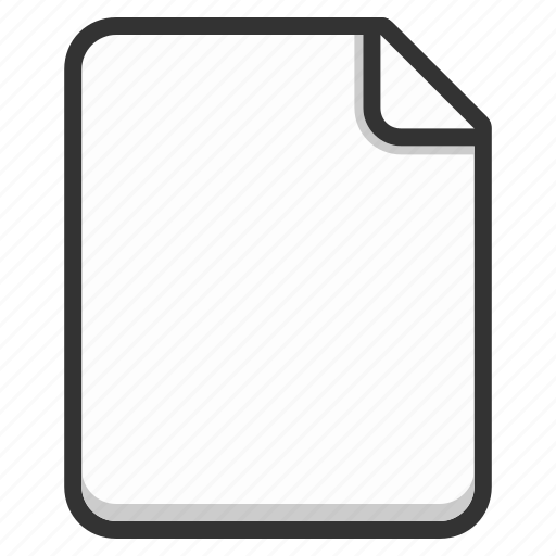 document, empty, file, files, page, paper, sheet icon
