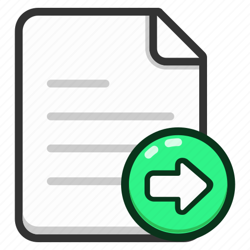 document, documents, export, file, files, format, paper icon