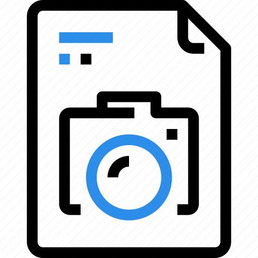 cam, camera, document, file, file type, format, image, photo icon