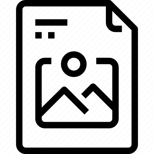 business, data, document, file, image, paper, process, type icon