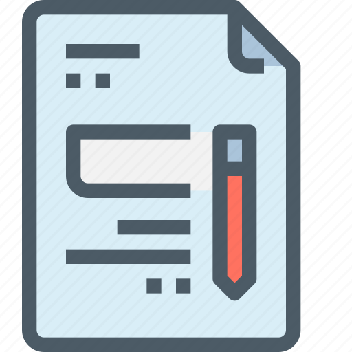 content, document, education, file, paper, test, text icon