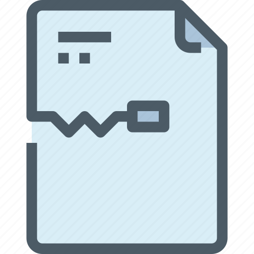 document, file, music, paper, zip icon