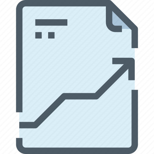 arrow, document, file, paper, up icon