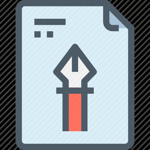 art, creative, document, file, idea, paper icon