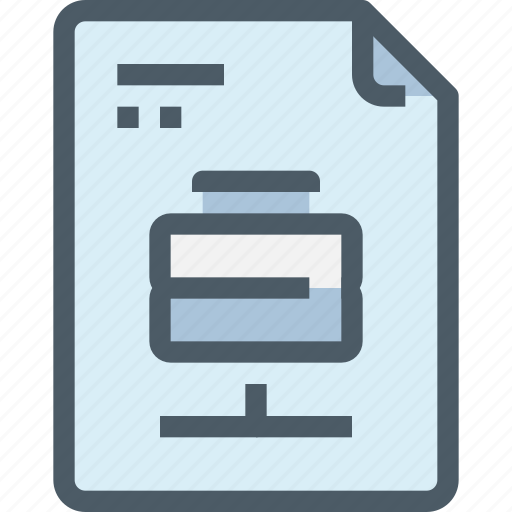 data, database, document, file, paper icon