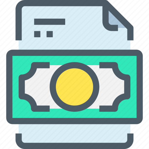 bank, banking, document, file, finance, paper icon