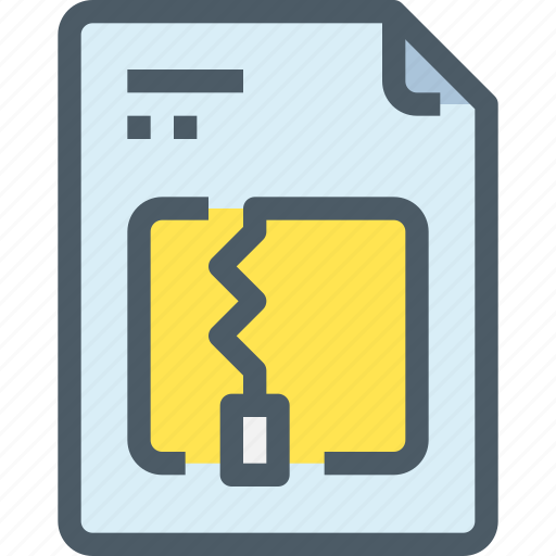 document, file, paper, zip icon