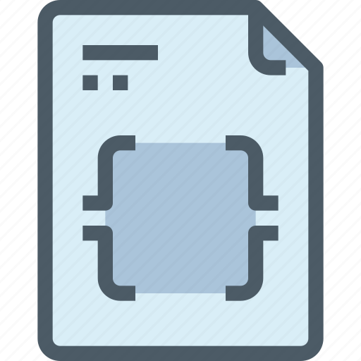 code, coding, development, document, file, paper, programming icon