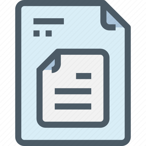 Business, data, document, file, paper icon - Download on Iconfinder