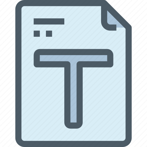 content, document, edit, file, font, paper, text icon