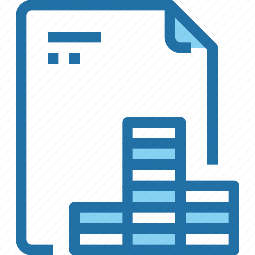 bank, banking, document, file, financial, paper icon