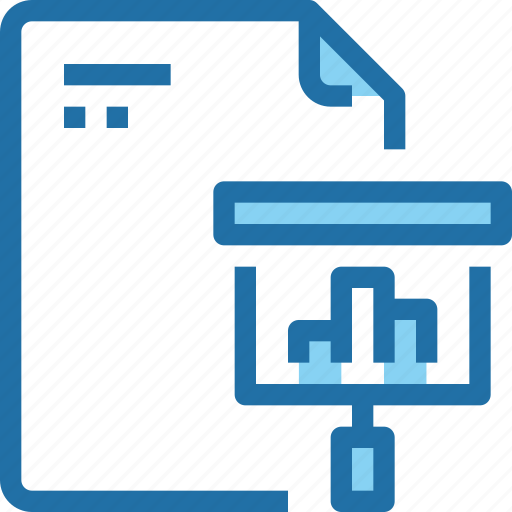 business, document, file, paper, planning, presentation icon