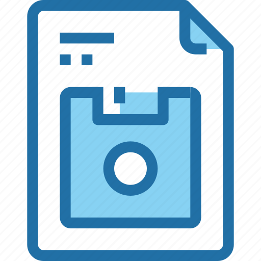 document, file, paper, save icon