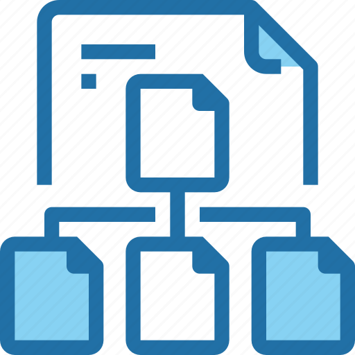 document, file, network, paper, share, sharing icon