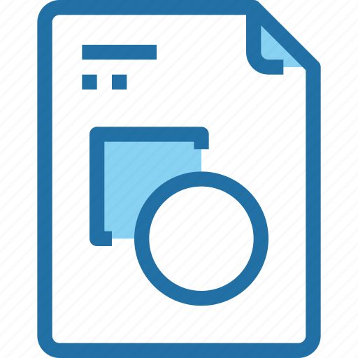 art, document, file, graphic, paper icon
