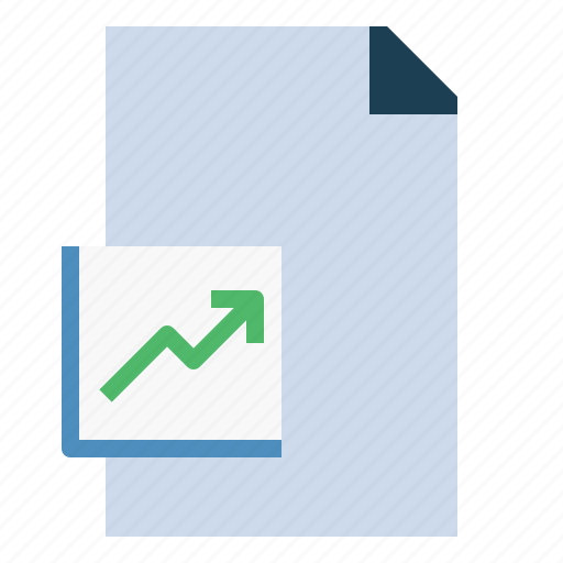 business, chart, finance, present, project icon