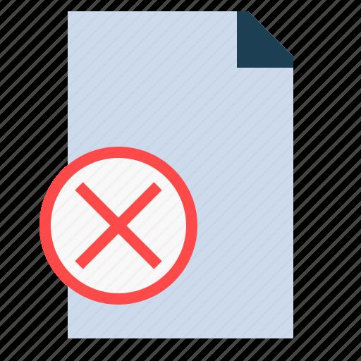 Archive, delete, document, file, remove icon - Download on Iconfinder