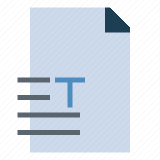 Extension, file, format, formats, text, txt icon - Download on Iconfinder