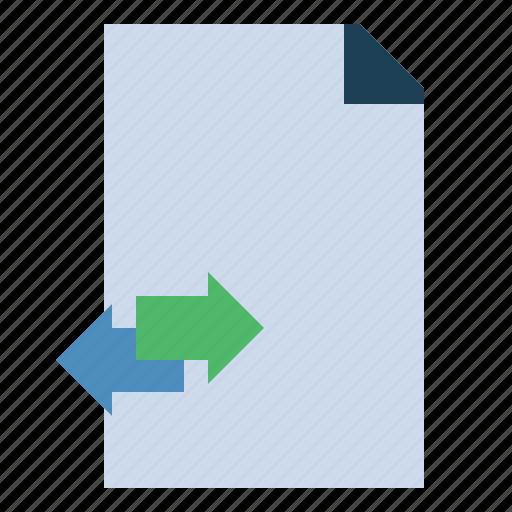 data, network, server, storage, transfer icon