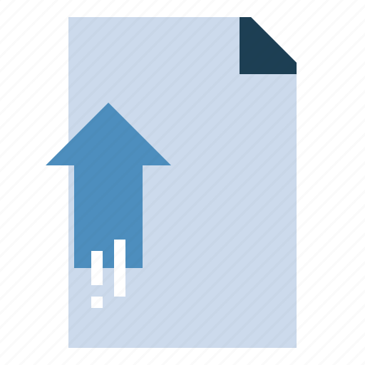 archive, document, file, interface, upload icon