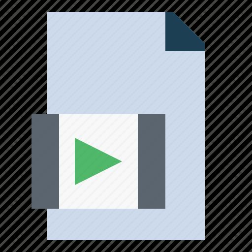 avi, file, format, interface, video icon