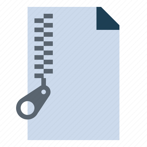 archive, compressed, document, zip icon